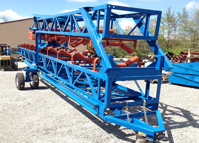 24x60 road towable radial stacker